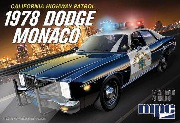 1978er Dodge Monaco, Police Car CHP · AMT 0922 ·  AMT/MPC · 1:25