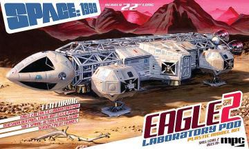 Space: 1999, Eagle II w/Lab Pod · AMT 0923 ·  AMT/MPC