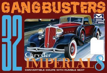 1932er Chrysler Imperial Gangbuster · AMT 0926 ·  AMT/MPC · 1:25
