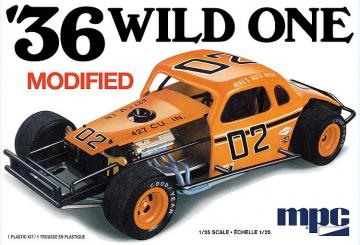 1936 Wild one modified · AMT 0929 ·  AMT/MPC · 1:25