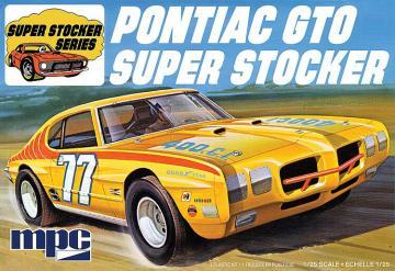 1970er Pontiac GTO SuperStocker · AMT 0939 ·  AMT/MPC · 1:25