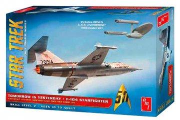 Star Trek F-104 Starfighter · AMT 0953 ·  AMT/MPC · 1:48