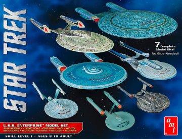 Star Trek U.S.S. Enterprise Box · AMT 0954 ·  AMT/MPC · 1:2500