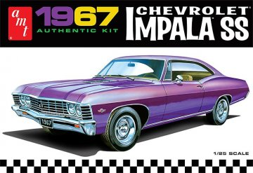 1967er Chevy Impala SS · AMT 0981 ·  AMT/MPC · 1:25