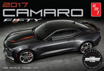 2017 Chevy Camaro 50th Anniversary · AMT 1035 ·  AMT/MPC · 1:25