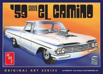 1959er Chevy el Camino · AMT 1058 ·  AMT/MPC · 1:25
