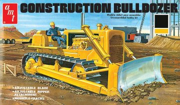 Construction Bulldozer · AMT 1086 ·  AMT/MPC · 1:25