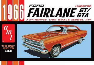 1966er Ford Fairlane GT · AMT 1091 ·  AMT/MPC · 1:25