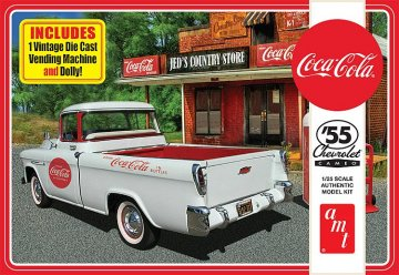 1955 Chevy cameo Pick-Up · AMT 1094 ·  AMT/MPC · 1:25