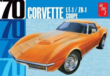 1970er Chevy Corvette Coupe · AMT 1097 ·  AMT/MPC · 1:25