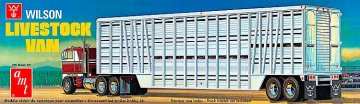 Wilson Livestock Van Trailer · AMT 1106 ·  AMT/MPC · 1:25