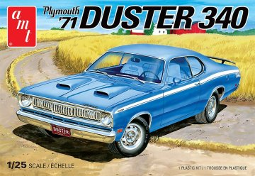 1971er Plymouth Duster 340 · AMT 1118 ·  AMT/MPC · 1:25