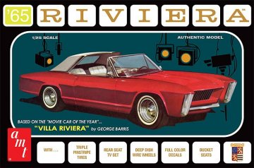 1965er Buick Riviere (Georg Barris) · AMT 1121 ·  AMT/MPC · 1:25