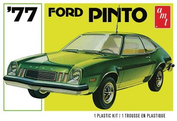 1977er Ford Pinto        · AMT 1129 ·  AMT/MPC · 1:25