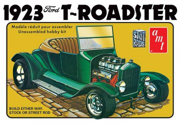 1923er Ford T Roadster Street Rod Series · AMT 1130 ·  AMT/MPC · 1:25