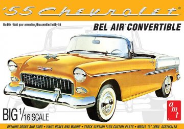 1955er Chevy Bel Air Con · AMT 1134 ·  AMT/MPC · 1:16