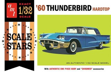 1960er Ford Thunderbird · AMT 1135 ·  AMT/MPC · 1:32