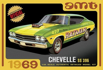 1969er Chevy Chevelle hardtop · AMT 1138 ·  AMT/MPC · 1:25