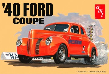 1940er Ford Coupe 2T · AMT 1141 ·  AMT/MPC · 1:25