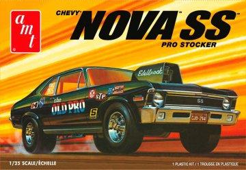1972er Chevy Nova SS Old Pro 2T · AMT 1142 ·  AMT/MPC · 1:25