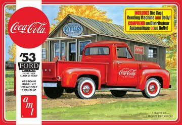 1953 Ford Pickup Coca-Cola · AMT 1144 ·  AMT/MPC · 1:25