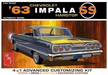 1963 Chevy Impala SS · AMT 1149 ·  AMT/MPC · 1:25