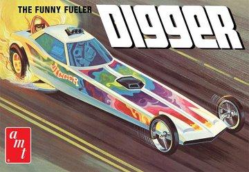 Digger Dragster Fooler Fueler · AMT 1154 ·  AMT/MPC · 1:25