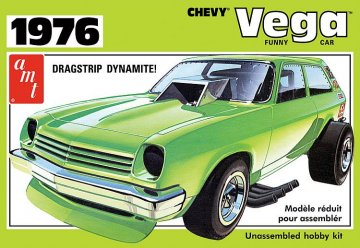 1976er Chevy Vega Funny Car · AMT 1156 ·  AMT/MPC · 1:25