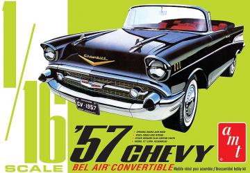 1957er Chevy Bel Air Convertible · AMT 1159 ·  AMT/MPC · 1:16