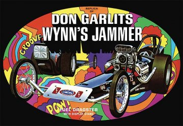 Don Garlits Wynn`s Jammer Dragster · AMT 1163 ·  AMT/MPC · 1:25
