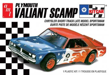 Plymouth Valiant Scamp - Kit car · AMT 1171 ·  AMT/MPC · 1:25