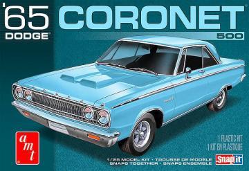 1965 Dodge Coronet, Snap-Kit · AMT 1176 ·  AMT/MPC · 1:25