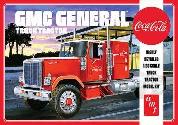 1976er GMC General Semi Tractor, Coca Cola · AMT 1179 ·  AMT/MPC · 1:25