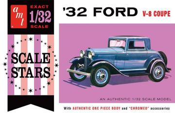 1932er Ford Scale Stars · AMT 1181 ·  AMT/MPC · 1:32