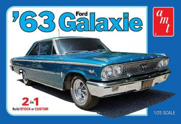 1963 Ford Galaxie · AMT 1186 ·  AMT/MPC · 1:25