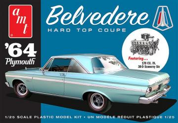 1964er Plymouth Belvedere · AMT 1188 ·  AMT/MPC · 1:25