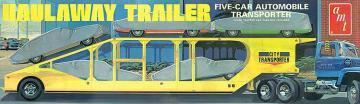 5-Car Haulway Trailer · AMT 1193 ·  AMT/MPC · 1:25