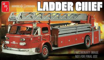 LaFrance Ladder Chief Fire Truck · AMT 1204 ·  AMT/MPC · 1:25