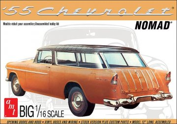 1955er Chevy Nomad wagon · AMT 1205 ·  AMT/MPC · 1:16