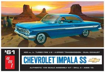 1961er Chevy Impala SS · AMT 1213 ·  AMT/MPC · 1:25