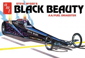 Steve McGee Black Beauty Wedge Dragster · AMT 1214 ·  AMT/MPC · 1:25
