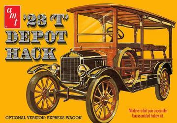 1923er Ford T Depot Hack · AMT 1237 ·  AMT/MPC · 1:25