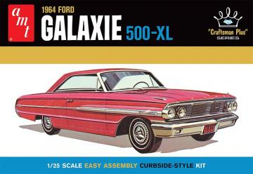 1964 Ford Galaxie, craftsma plus series · AMT 1261 ·  AMT/MPC · 1:25
