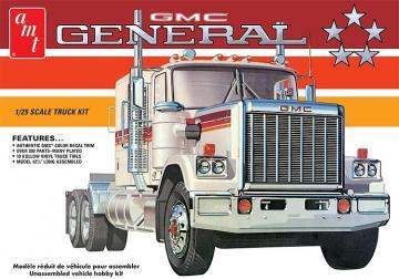 1976er GMC General Semi Tractor · AMT 1272 ·  AMT/MPC · 1:25