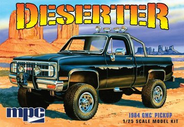 1984er GMC Pickup · AMT 1848 ·  AMT/MPC · 1:25