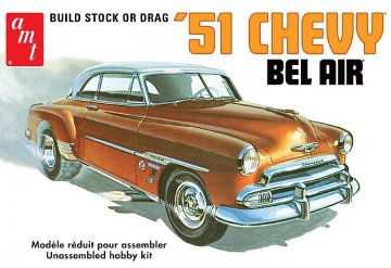 1951er Chevy Bel Air · AMT 1862 ·  AMT/MPC · 1:25