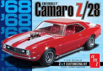 1968 Camaro Z/28 · AMT 1868 ·  AMT/MPC · 1:25