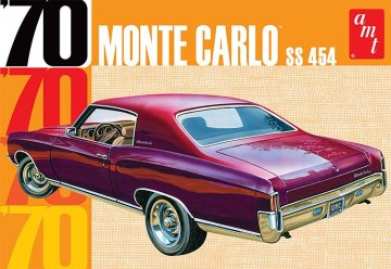 1970er Chevy Monte Carlo · AMT 1928 ·  AMT/MPC · 1:25