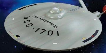 Star Trek TOS U.S.S. Enterprise Smooth Saucer · AMT 2015 ·  AMT/MPC · 1:350