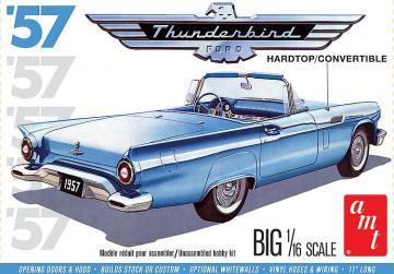 1957er Ford Thunderbird 2T · AMT 2206 ·  AMT/MPC · 1:16
